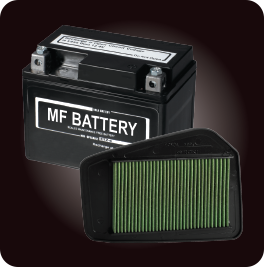 MF BATTERY AND VISCOUS FILTER